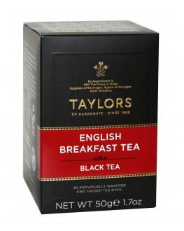 Чай TAYLORS English Breakfast Tea Английский Завтрак 20 х 2,5 г (615357118867)