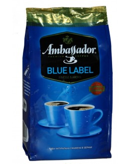 Кофе AMBASSADOR Blue Label зерновой 1 кг (7612654000034)