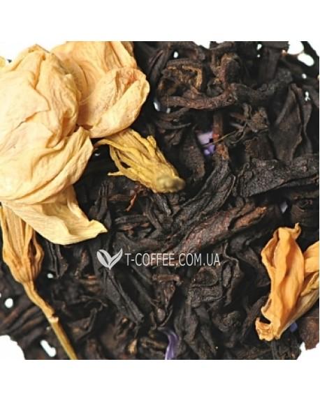 Черный с Ароматом Молока и Цветами черный ароматизированный чай Чайна Країна