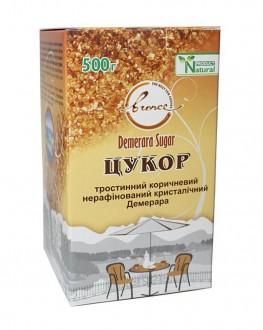 Сахар тростниковый коричневый нерафинированный кристаллический Demerara 500 г