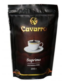 Кофе CAVARRO Suprimo растворимый 200 г эконом. пак. (4820235750183)