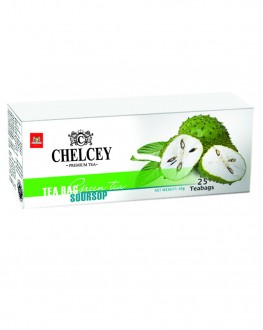 Чай CHELCEY Soursop Саусеп зеленый 25 х 2 г