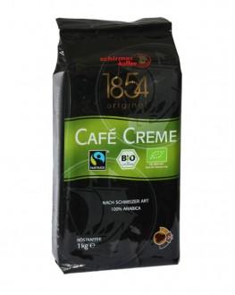 Кофе SCHIRMER Cafe Creme Bio зерновой 1 кг (4007611158171)