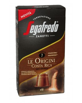 Кофе SEGAFREDO Nespresso Le Origini Costa Rica в капсулах 10 х 5,1 г (8003410248293)