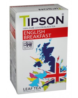 Чай TIPSON English Breakfast Англійський Сніданок 85 г к/п (4792252931725)