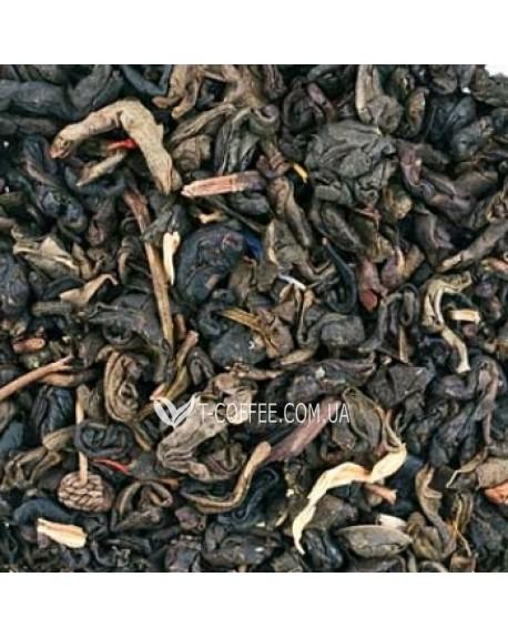 Малахитовая Шкатулка зеленый ароматизированный чай Чайна Країна