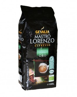 Кофе GEVALIA Mastro Lorenzo Aroma Oro зерновой 1 кг