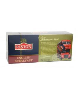 Чай RISTON English Breakfast Английский Завтрак 25 х 2 г (4792156003672)