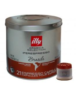 Кофе ILLY IperEspresso Monoarabica Brazil в капсулах 21 х 6,7 г (8003753943695)
