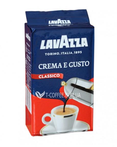 Кофе Lavazza Crema e Gusto Classico молотый 250 г (8000070038768)