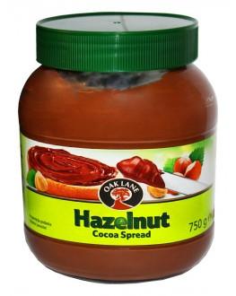 Шоколадна паста OAK LANE Haselnut Cocoa Spred 750 г скл. б. (5051701066104)