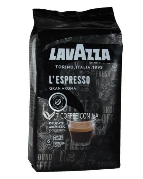 Кофе Lavazza L'Espresso Gran Aroma зерновой 1 кг (8000070024816)