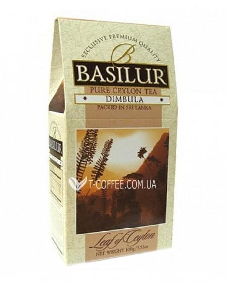 Чай BASILUR Dimbula Димбула- Лист Цейлона 100 г к/п