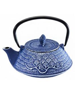 Чайник чугунный Никко синий 800 мл