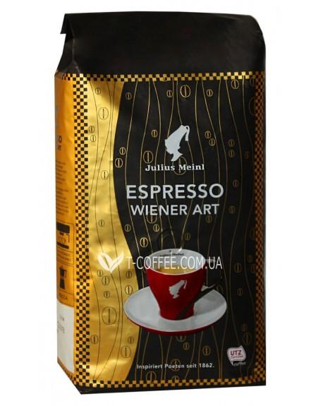 Кофе Julius Meinl Espresso Wiener Art зерновой 1 кг (9000403809324)