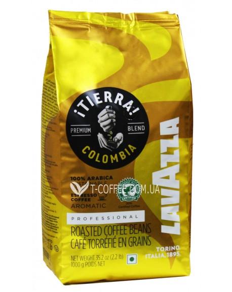 Кофе LAVAZZA Tierra Colombia Aromatic зерновой 1 кг (8000070017412)