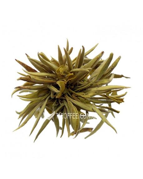 Серебряная Клубника зеленый вязаный чай Світ чаю