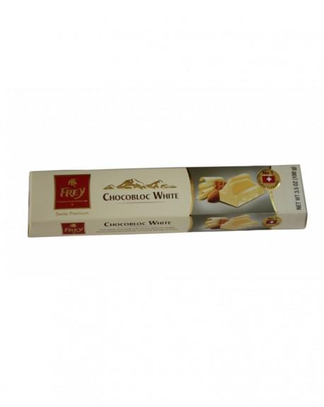 Шоколад Frey Chocobloc White белый с медово-миндальной нугой 100 г